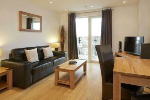 Living Room, Guild House Serviced Apartments, Swindon