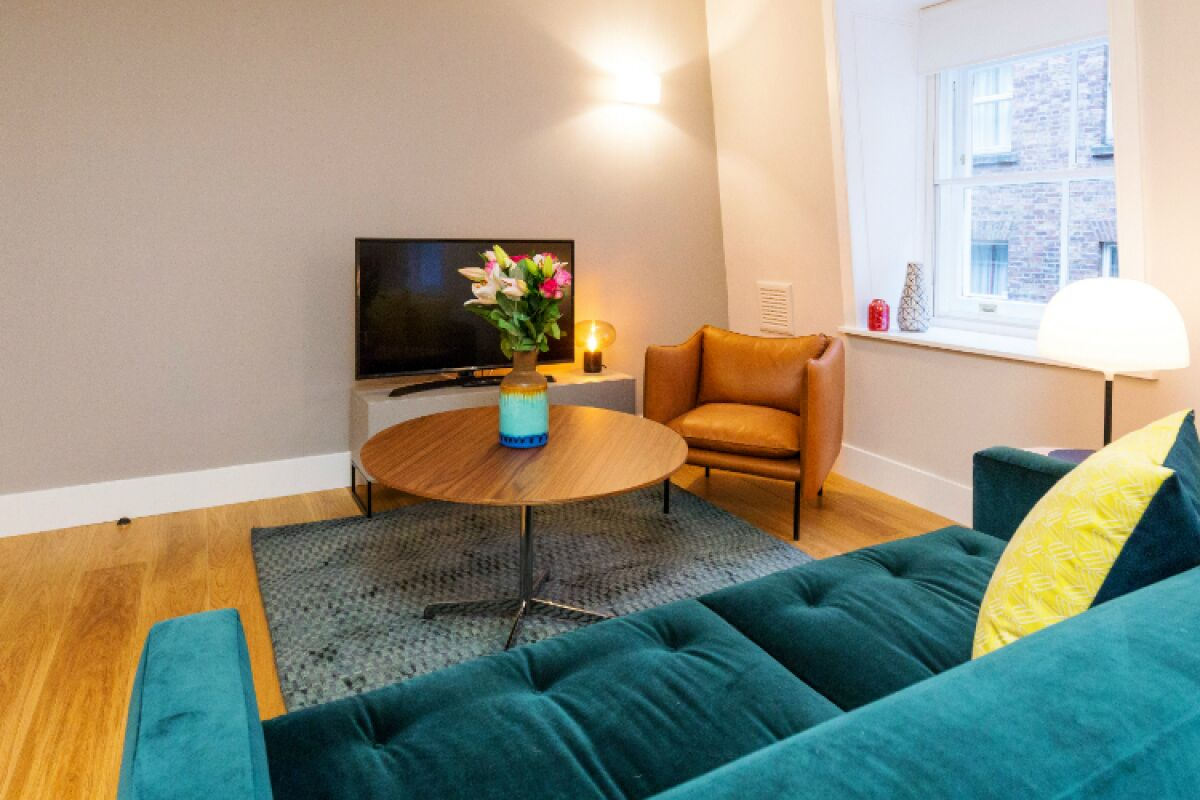 Living Area, St Swithin's Lane Serviced Apartments, Bank
