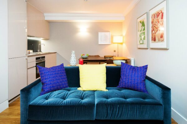 Open Plan Living Area, St Swithin's Lane Serviced Apartments, Bank