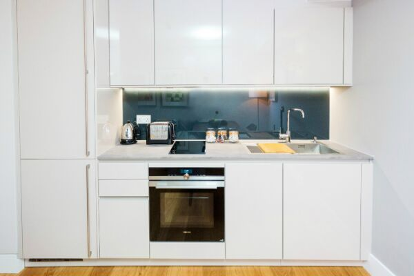 Kitchen, St Swithin's Lane Serviced Apartments, Bank