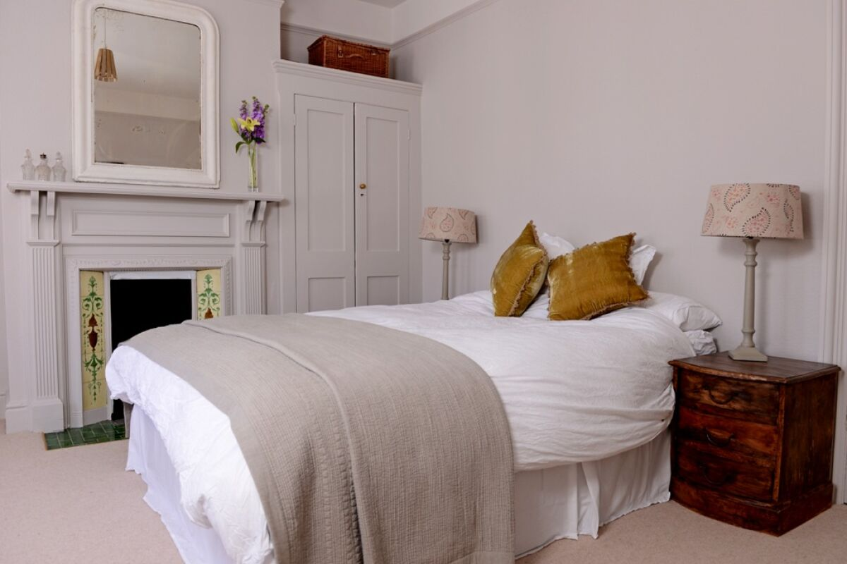 Bedroom, Gildredge Terrace House Serviced Apartments, Eastbourne