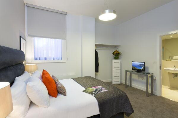 Bedroom, Piccadilly Serviced Apartments, Manchester