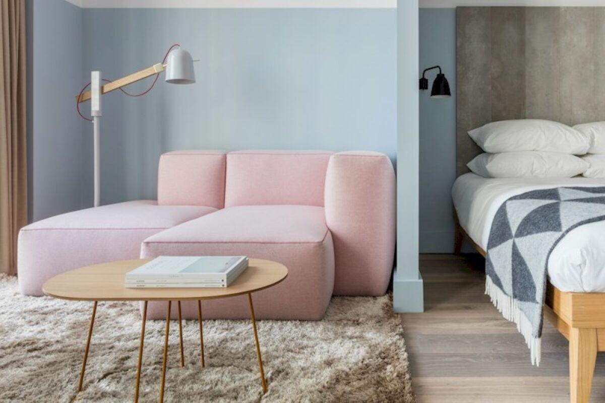 Living Area, Leman Locke Serviced Apartments, London