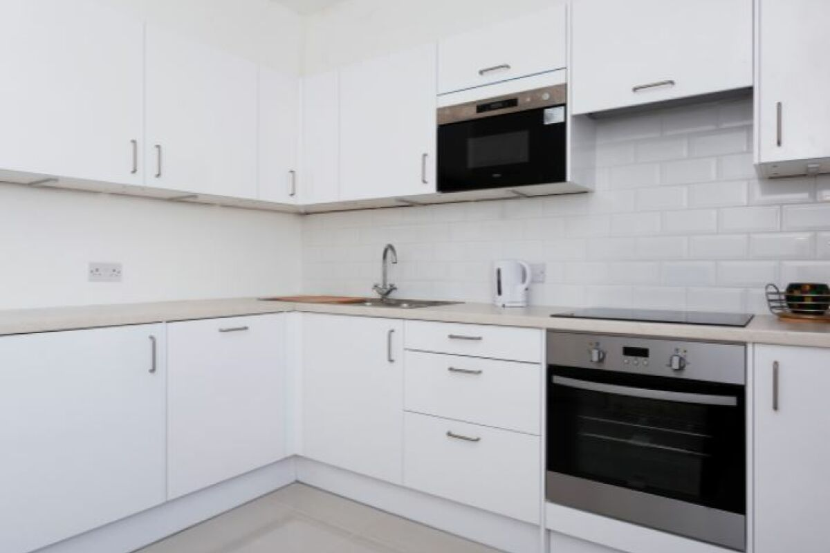 Kitchen, Kensington Serviced Apartment, Notting Hill
