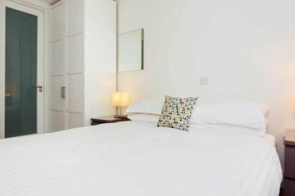 Bedroom, Liverpool Road Serviced Apartment, London