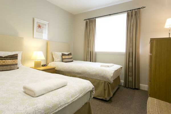 Bedroom, Wellgreen Gate, Serviced Apartments, Stirling