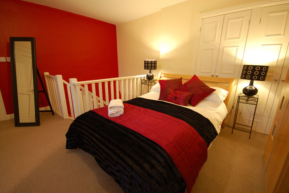 Bedroom, Common Hall Serviced Apartments, Chester