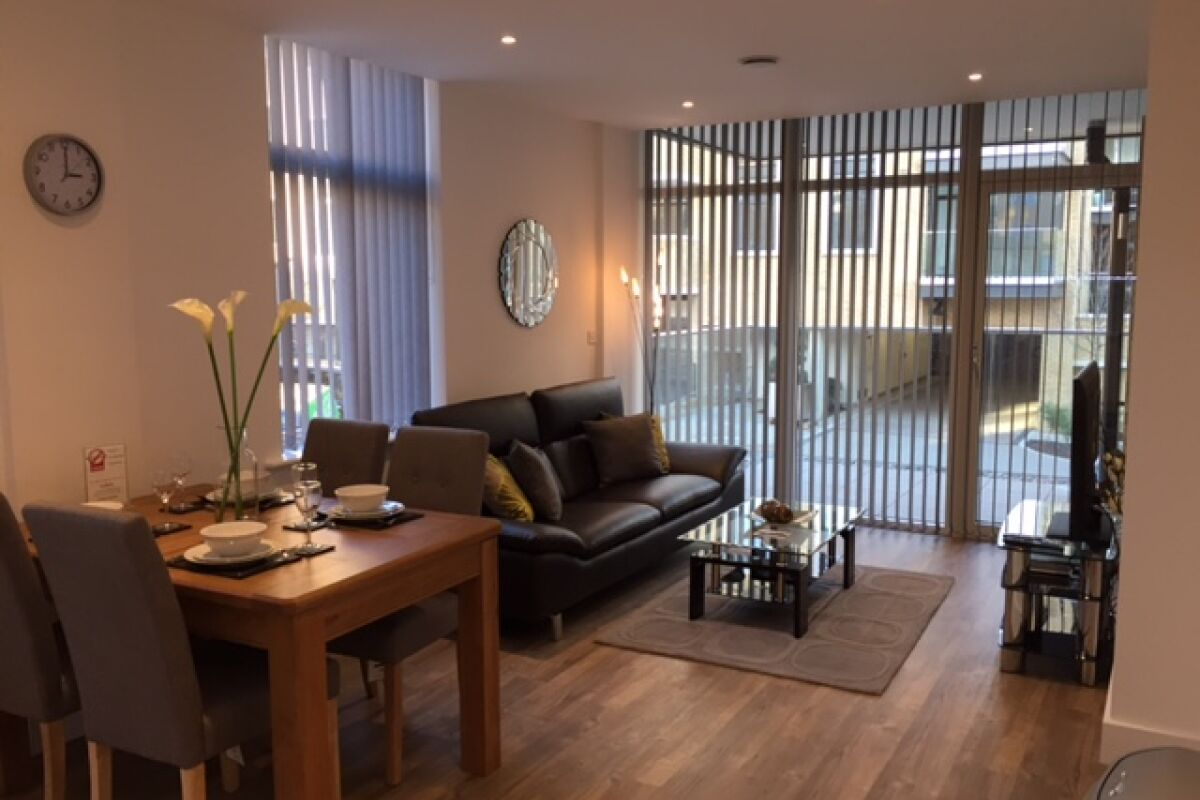 Living Room, London Square Serviced Apartments