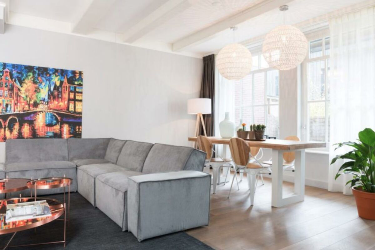 Living Room, Old Center Serviced Apartments, Amsterdam