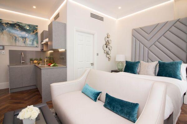 Bedroom, Baker Street Serviced Apartments, Marylebone