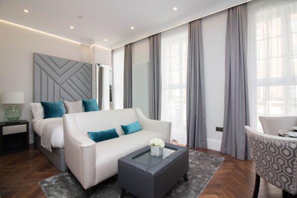 Living Area, Baker Street Serviced Apartments, Marylebone