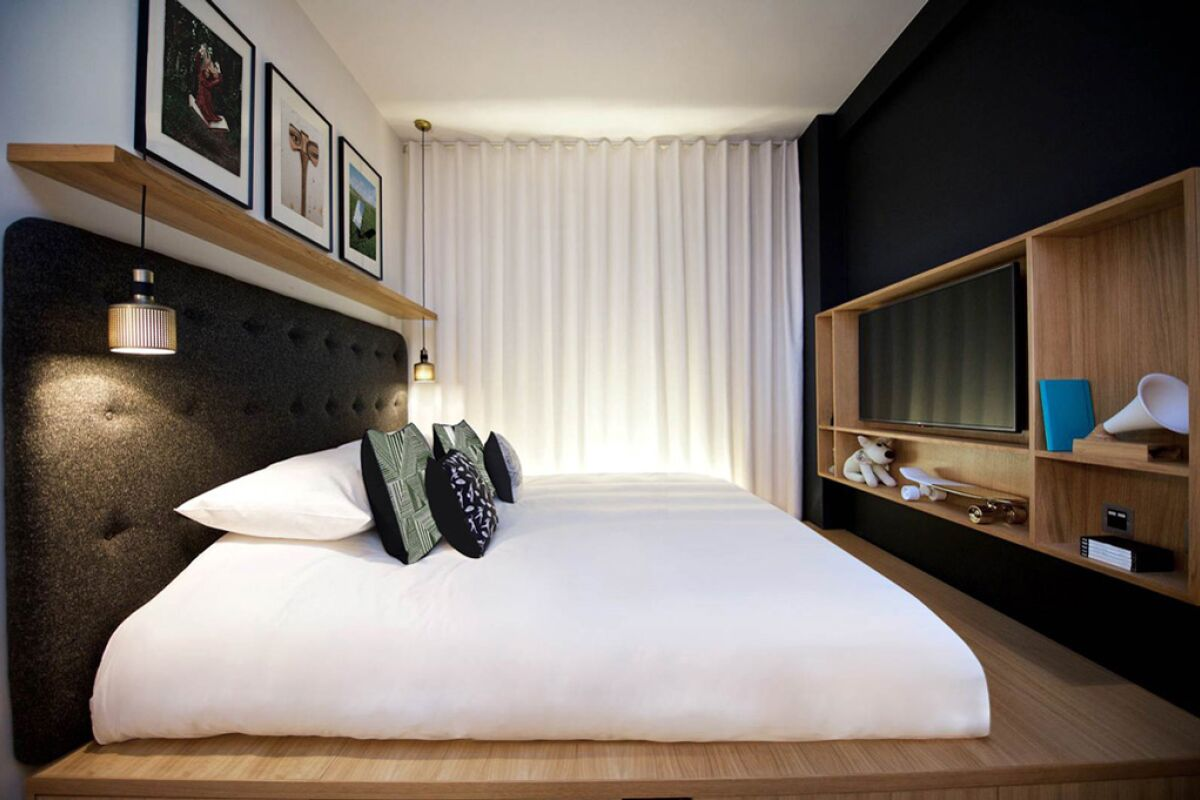Bedroom, Wilde Aparthotel by Staycity, London