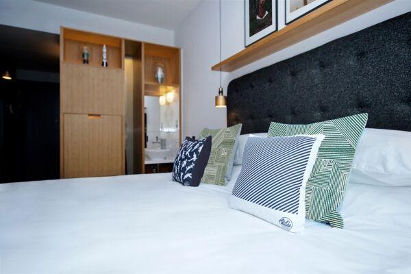 Bedroom, Wilde Aparthotel by Staycity, London