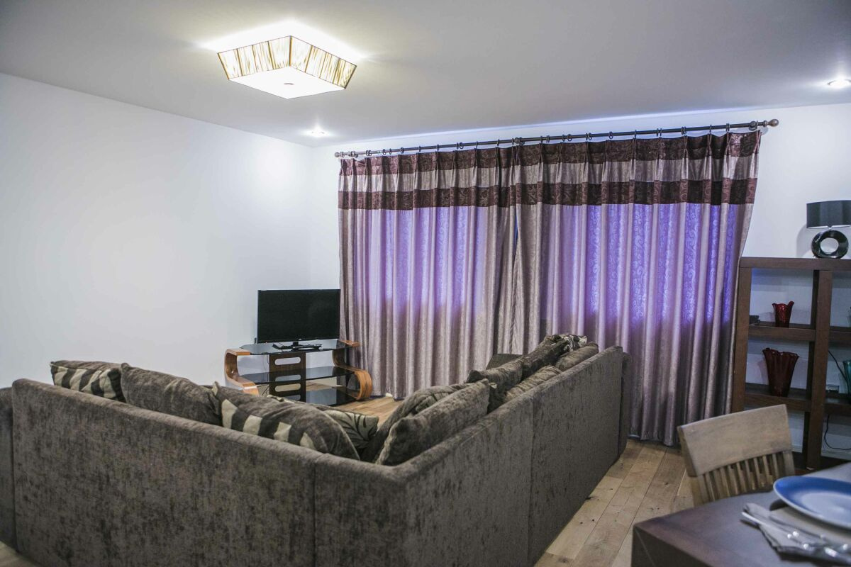 Living Area, The Nook Serviced Apartment, London