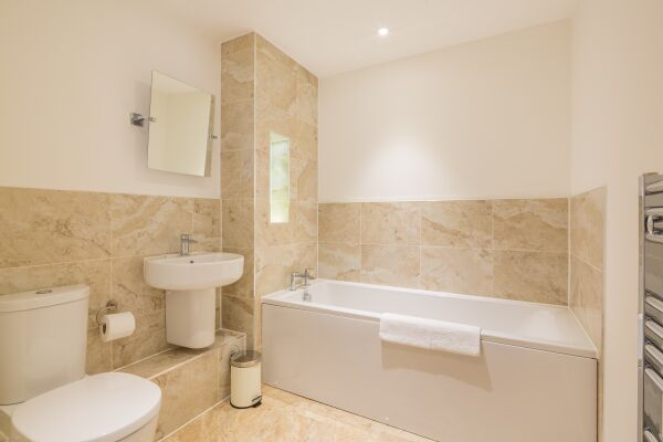 Bathroom, Somerville Court Serviced Apartments, St. Albans