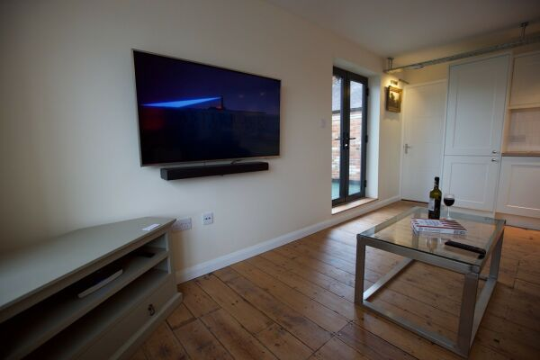 Living Area, Dove Street Serviced Apartments, Ipswich