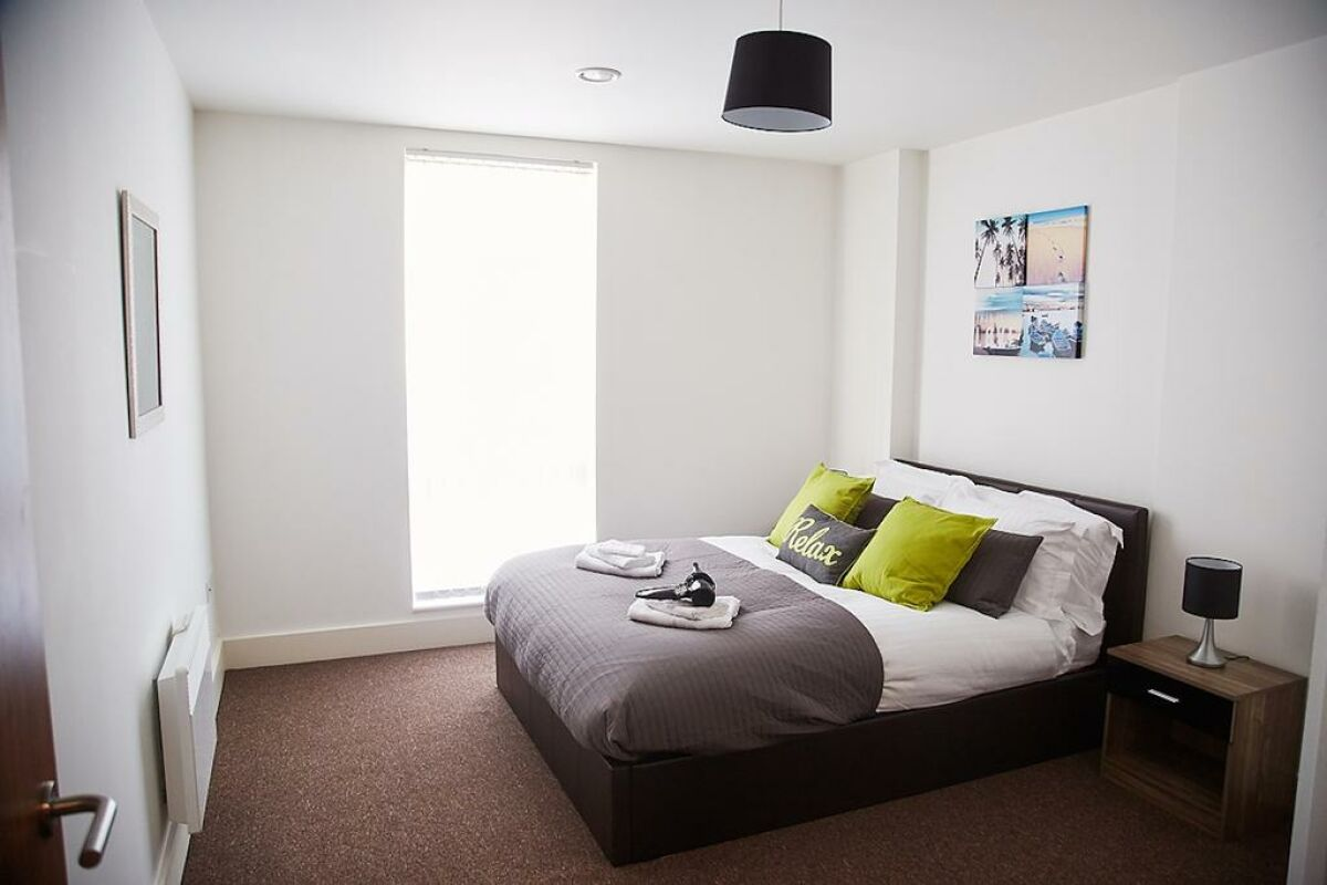 Bedroom, The Mill House Serviced Accommodation, Ipswich