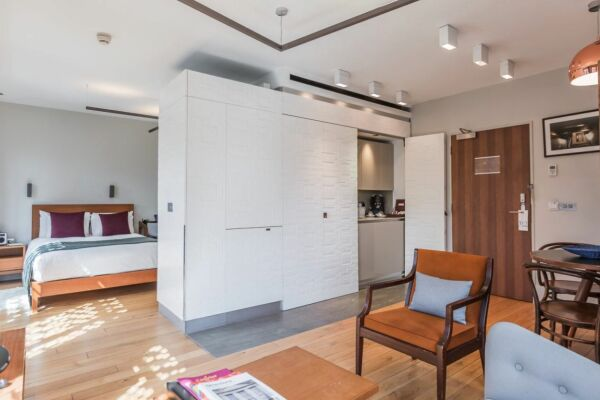 Studio, Patriot Square Serviced Apartments, City of London