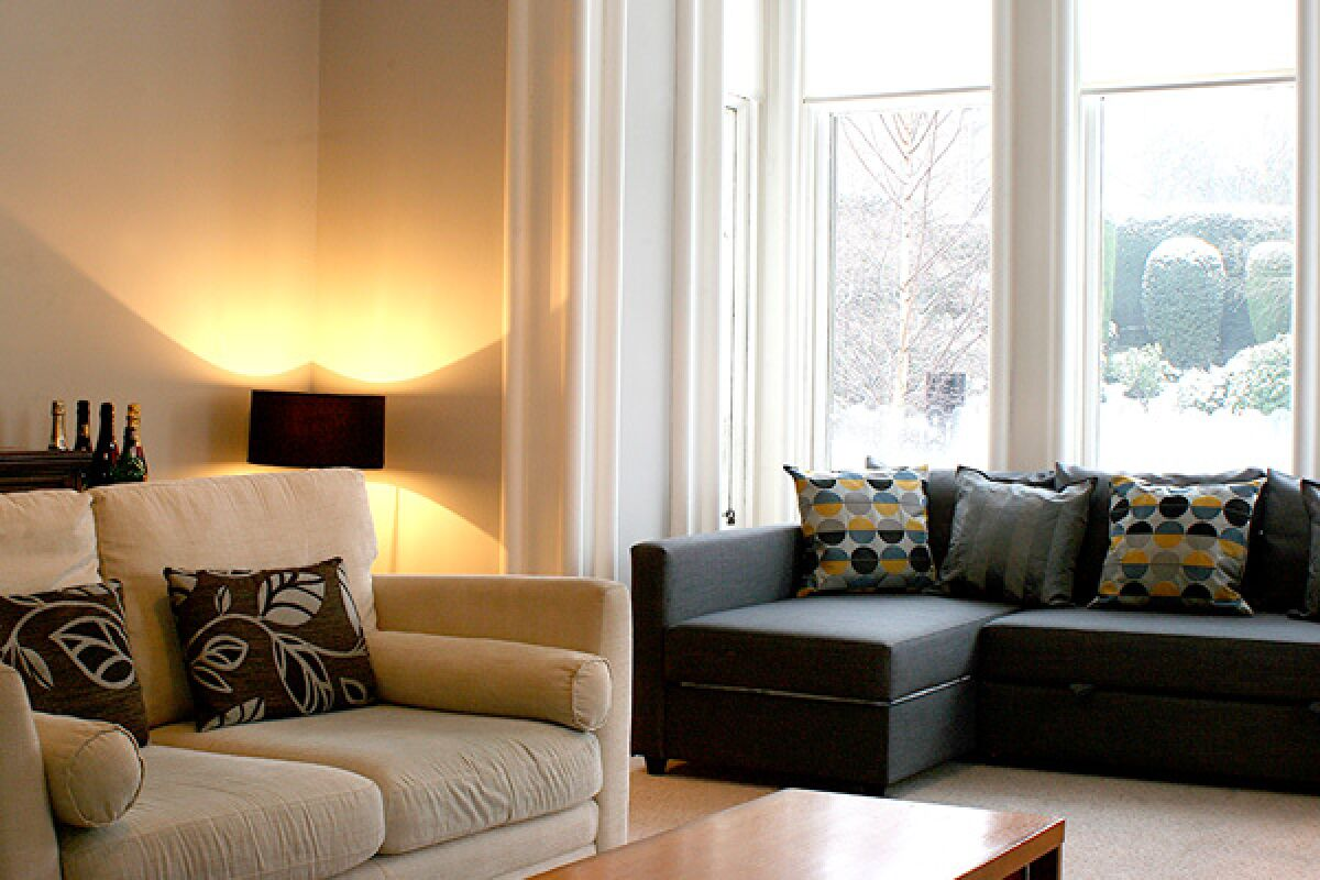 Living Area, Gladstone House Serviced Accommodation, Stirling