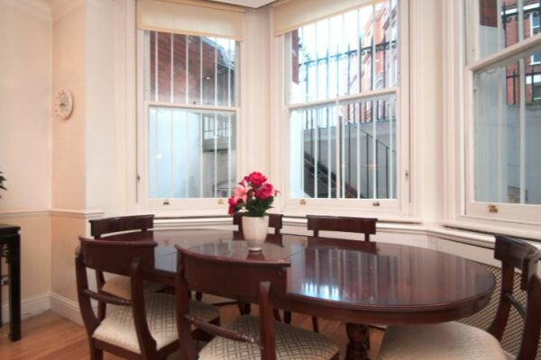 Dining Area, Knightsbridge Serviced Accommodation, London