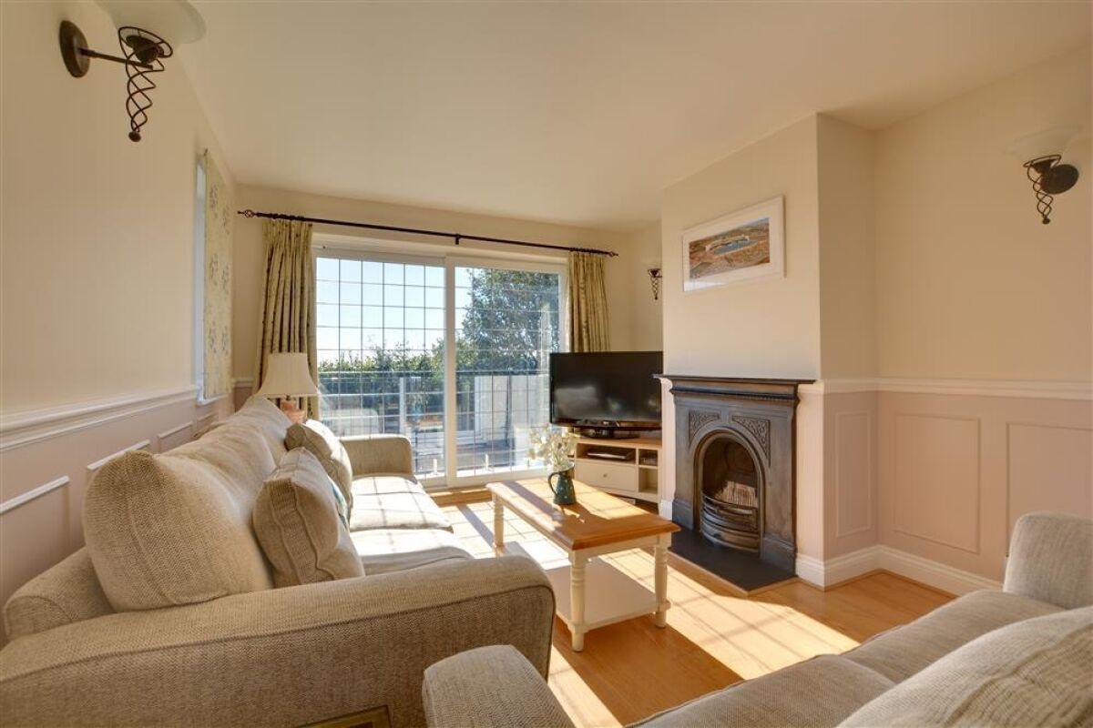 Living Area, Saltdean Heights Serviced Accommodation, Saltdean, Brighton