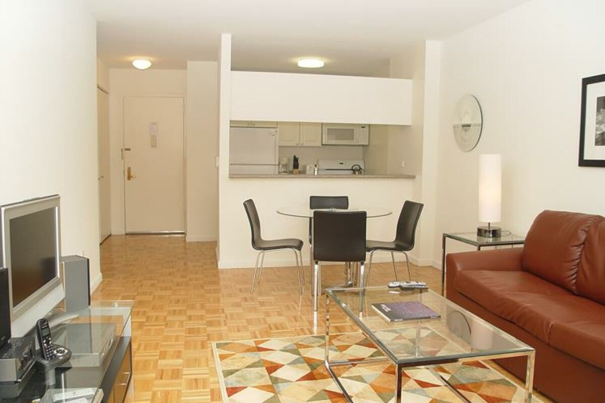 Living Space, The Archstone Serviced Apartments, Midtown, New York