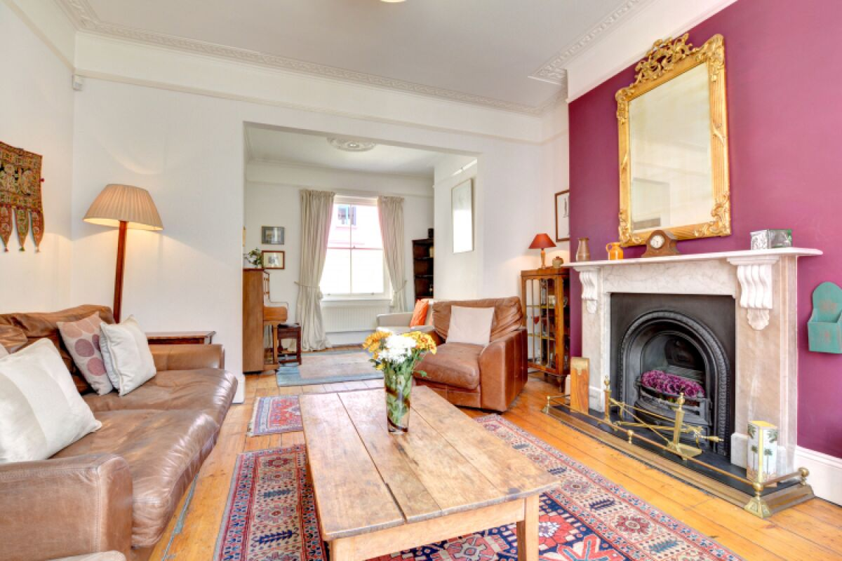 Living Area, Sillwood Townhouse Serviced Accommodation, Brighton