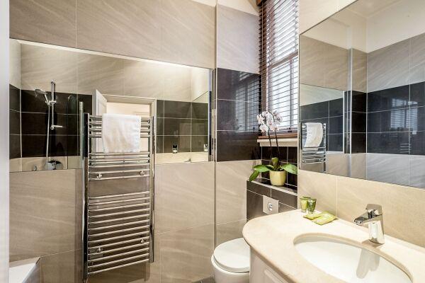 Bathroom, Chelsea Sloane Square Serviced Apartments, Chelsea