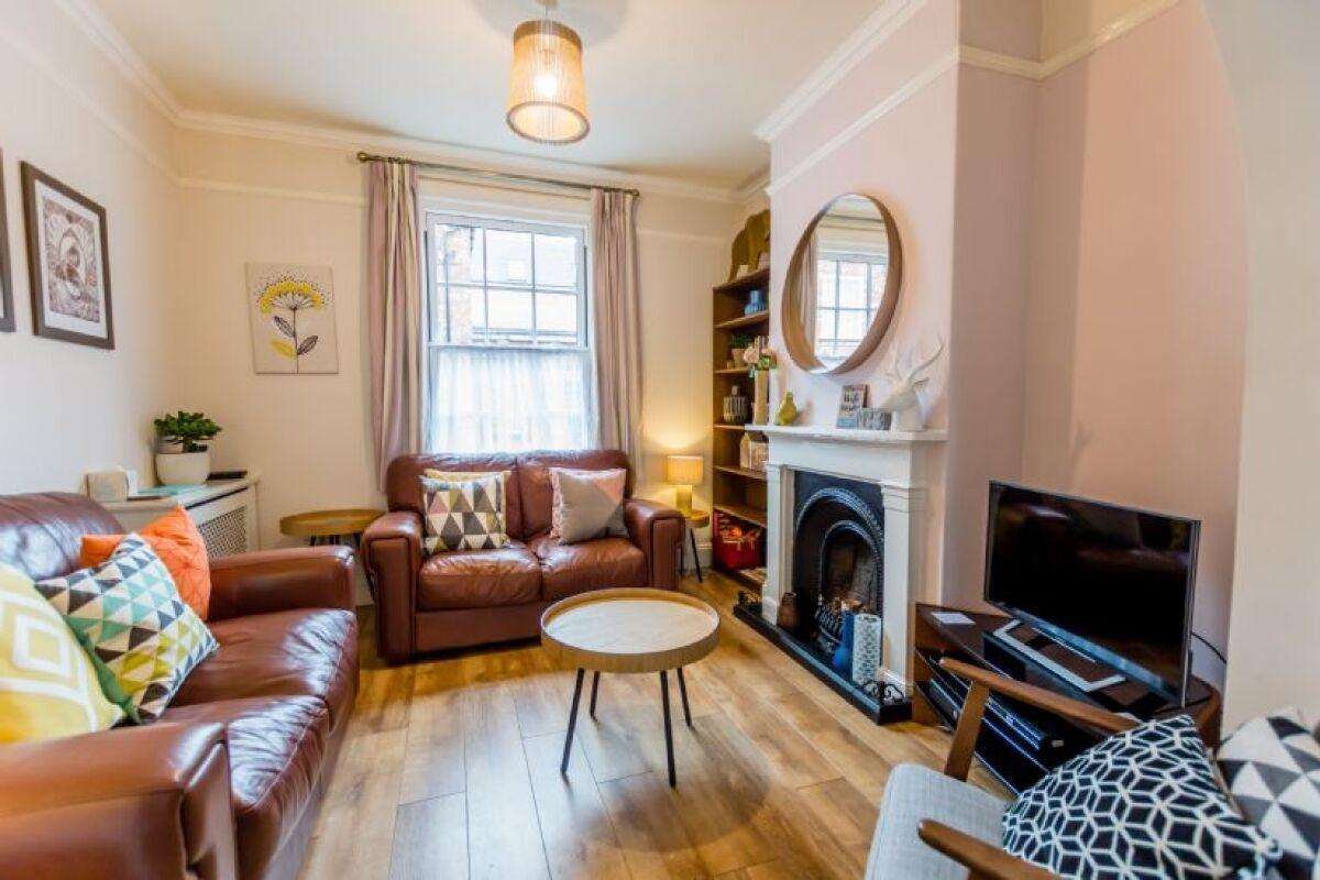 Living Area, 3 Buckingham Street Serviced Apartment, York