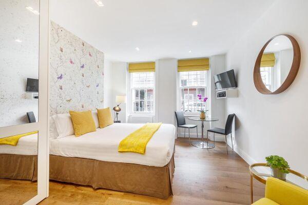 Studio, Wyndham Street Serviced Apartments, Marylebone