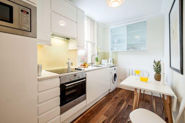 Kitchen, Chiltern Street Serviced Apartments, Marylebone