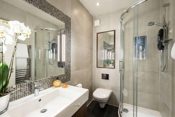 Bathroom, Chiltern Street Serviced Apartments, Marylebone
