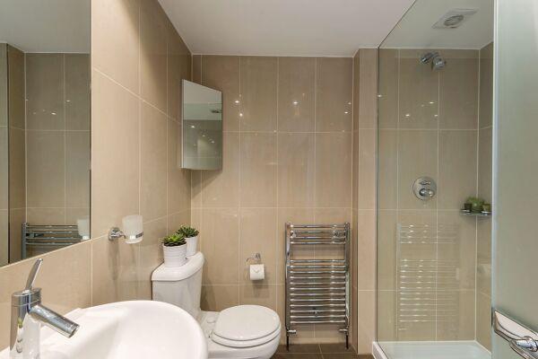 Bathroom, Gloucester Place Serviced Apartments, Marylebone