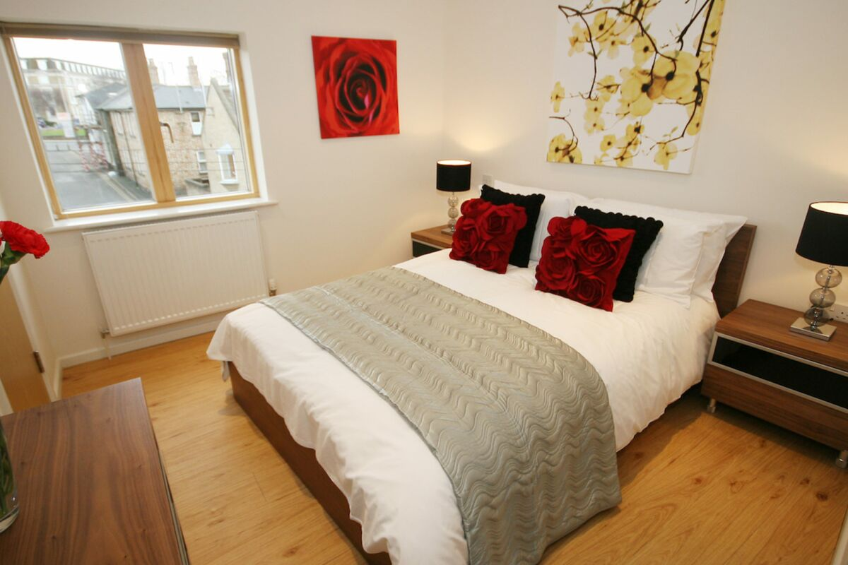 Bedroom, St. Peters Street Serviced Apartment, Cambridge