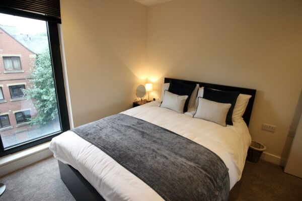 The Chandlers Serviced Apartments in Leeds, Bedroom