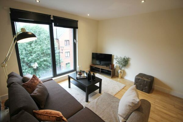 Lounge, The Chandlers Serviced Apartments, Leeds