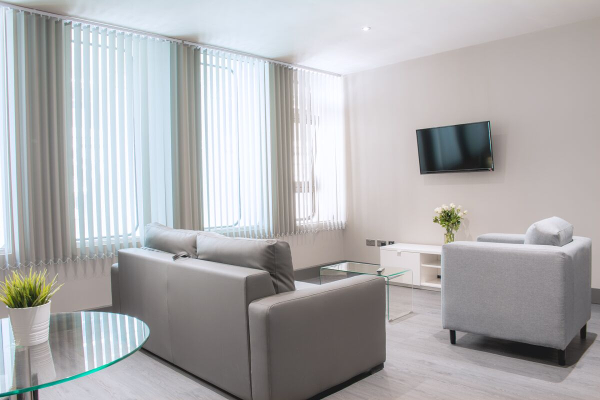 Lounge, Water Street Serviced Apartments, Liverpool
