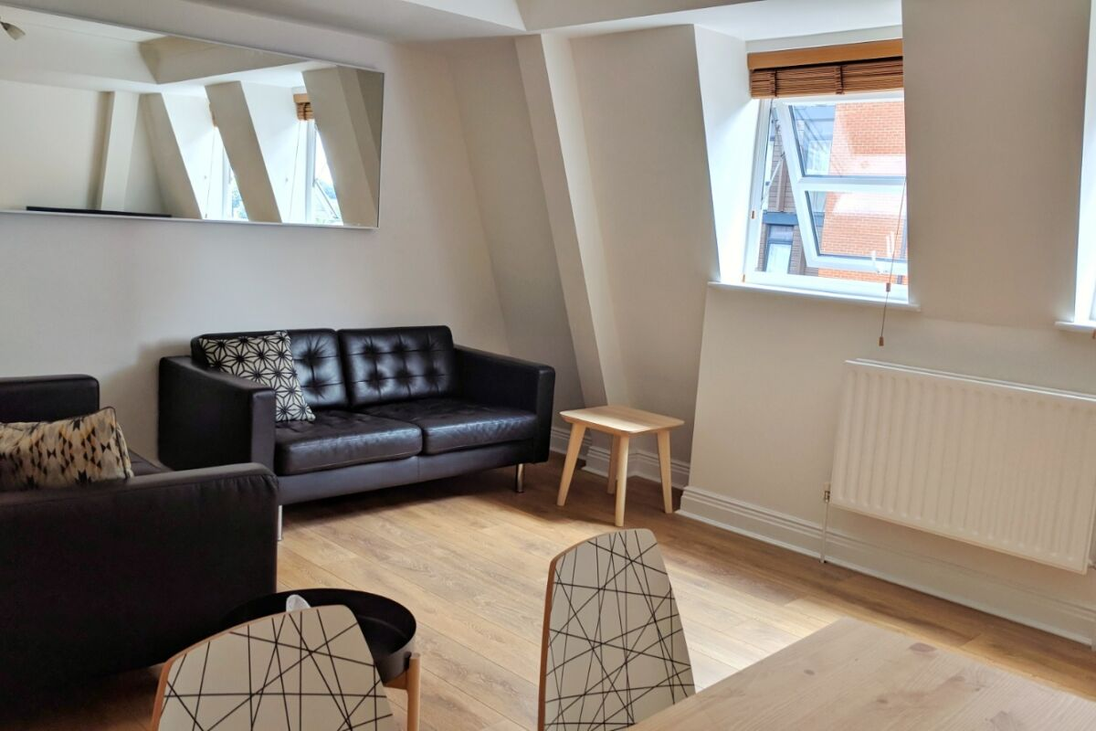 Living Area, Ringer's Road Serviced Apartments, Bromley