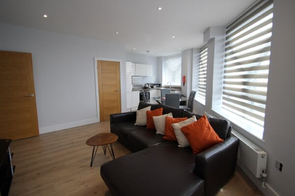 Living Area, Ringside Serviced Apartments, Bracknell