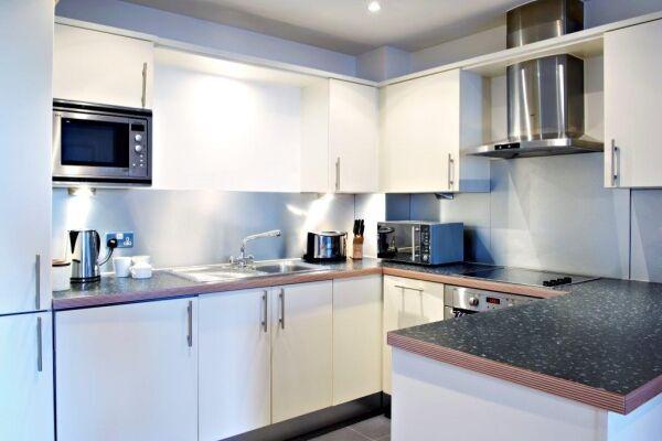 Kitchen, Horseshoe Court, Serviced Apartments, Clerkenwell