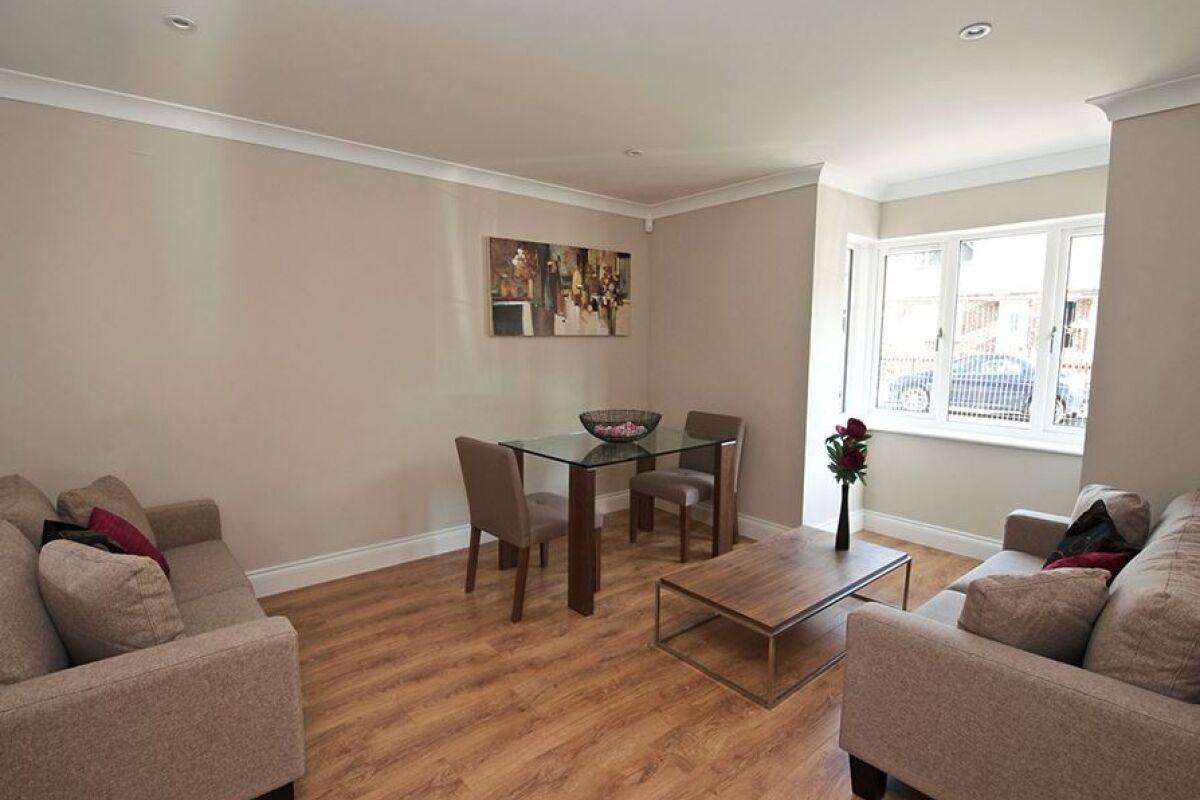Living Room, Keller Court Serviced Apartments, Horsham
