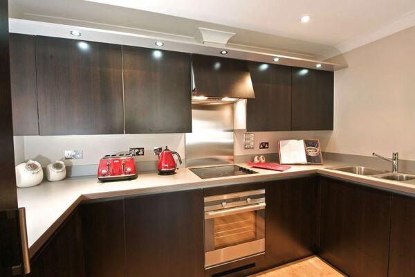 Kitchen, Keller Court Serviced Apartments, Horsham