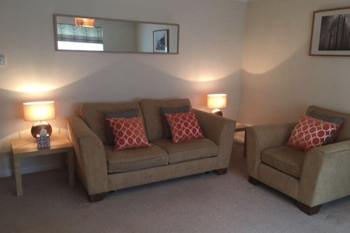Living Room, Greenacres Serviced Accommodation, Horsham