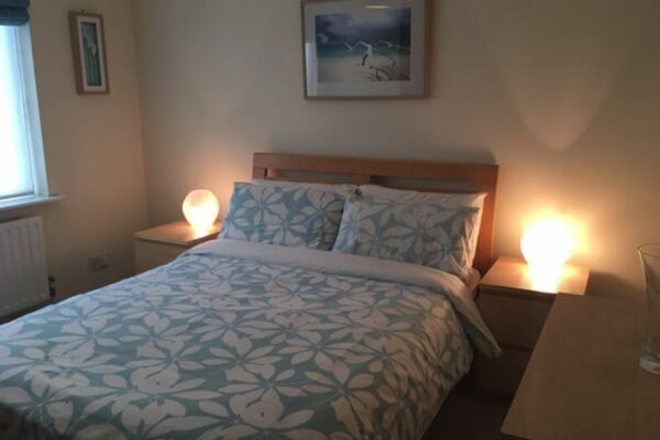 Bedroom, Moonsgate Serviced Apartments, Horsham