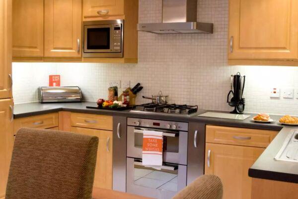 Kitchen, Bounty Suite Serviced Accommodation, Basingstoke