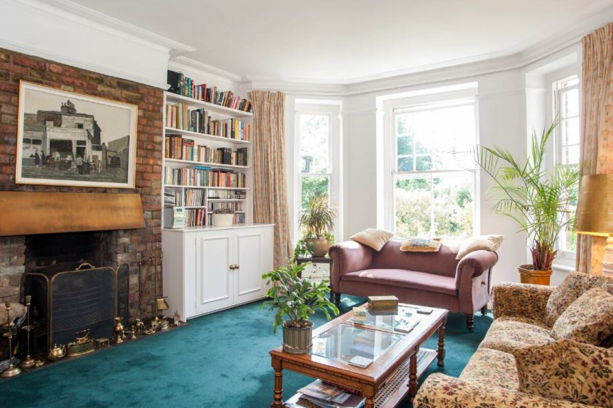 Living Area, Brookfield Serviced Apartment, Hampstead, London