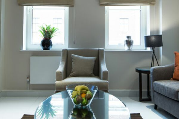 Headrow Serviced Apartments in Leeds, Living Area