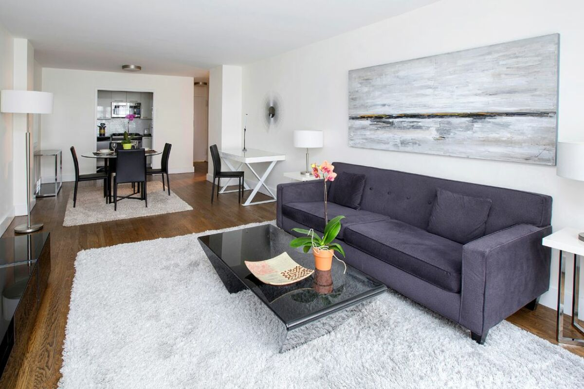 Lounge, The Blake Serviced Apartments, New York