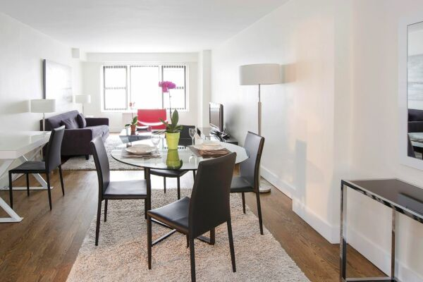 Living Area, The Blake Serviced Apartments, New York