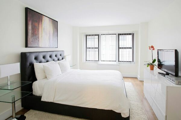 Bedroom, The Blake Serviced Apartments, New York